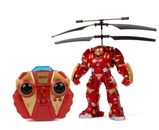 Marvel Licensed Avengers: Age Of Ultron Hulkbuster 2CH IR RC Helicopter RC-Helicopters World Tech Toys