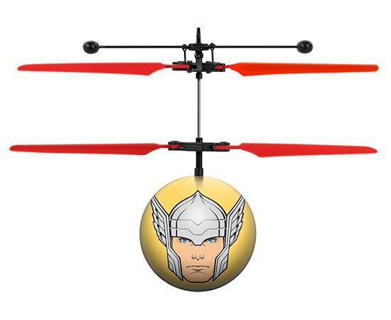 Marvel Licensed Avengers Thor IR UFO Heli Ball Heliball World Tech Toys