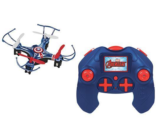 Marvel Licensed Captain America 2.4GHz 4.5CH Micro RC Drone Drones World Tech Toys
