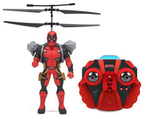 Marvel Licensed Deadpool 2CH IR RC Helicopter RC-Helicopters World Tech Toys