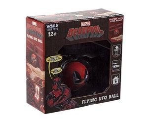 Marvel Licensed Deadpool IR UFO Heli Ball Heliball World Tech Toys