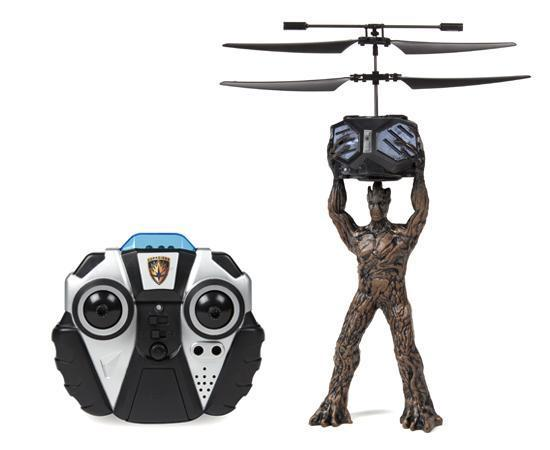 Marvel Licensed Guardians Of The Galaxy Groot 2CH IR RC Helicopter RC-Helicopters World Tech Toys
