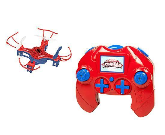 Marvel Licensed Spider-Man Micro Drone 2.4GHz 4.5CH RC Drone Drones World Tech Toys