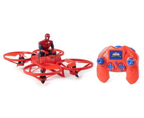 Marvel Licensed Ultimate Spider-Man Hoverbike 2.4GHz 4.5CH RC Drone Drones World Tech Toys