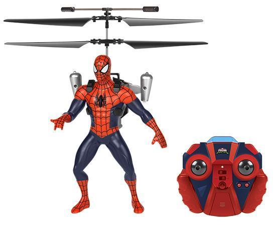 Marvel Licensed Ultimate Spider-Man Vs The Sinister 6 Jetpack 2CH IR RC Helicopter RC-Helicopters World Tech Toys
