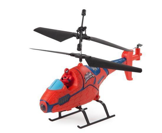 Marvel Ultimate Spider-Man IR Hero Pilot RC Helicopter RC-Helicopters World Tech Toys