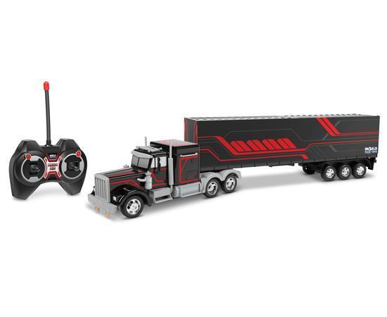 Mega Rig Electric RC Semi Trailer Truck RC-Trucks World Tech Toys