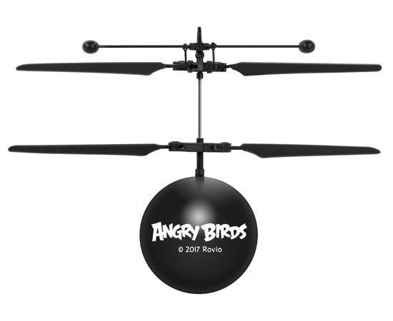 Rovio Licensed Angry Birds Bomb IR UFO Heli Ball Heliball World Tech Toys
