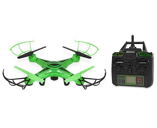 Striker-X Glow-In-The-Dark 2.4GHz 4.5CH RC HD Camera Drone Drones World Tech Toys