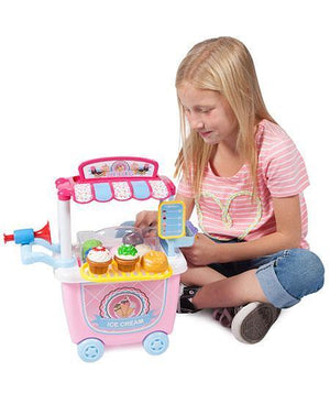 World Tech Toys 14-Piece Ice Cream Cart Playset Toys World Tech Toys