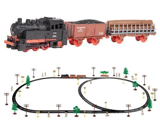 World Tech Toys King of the Rails 74 Piece Electric Train Set Toys World Tech Toys