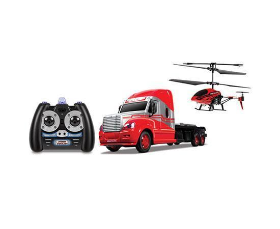 World Tech Toys MegaHauler 3.5CH Helicopter And Electric RC Truck IR Combo Pack RC-Helicopters World Tech Toys
