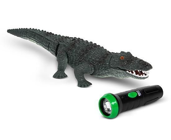 World Tech Toys RC Creatures Remote Control Infrared Crocodile RC-Other World Tech Toys
