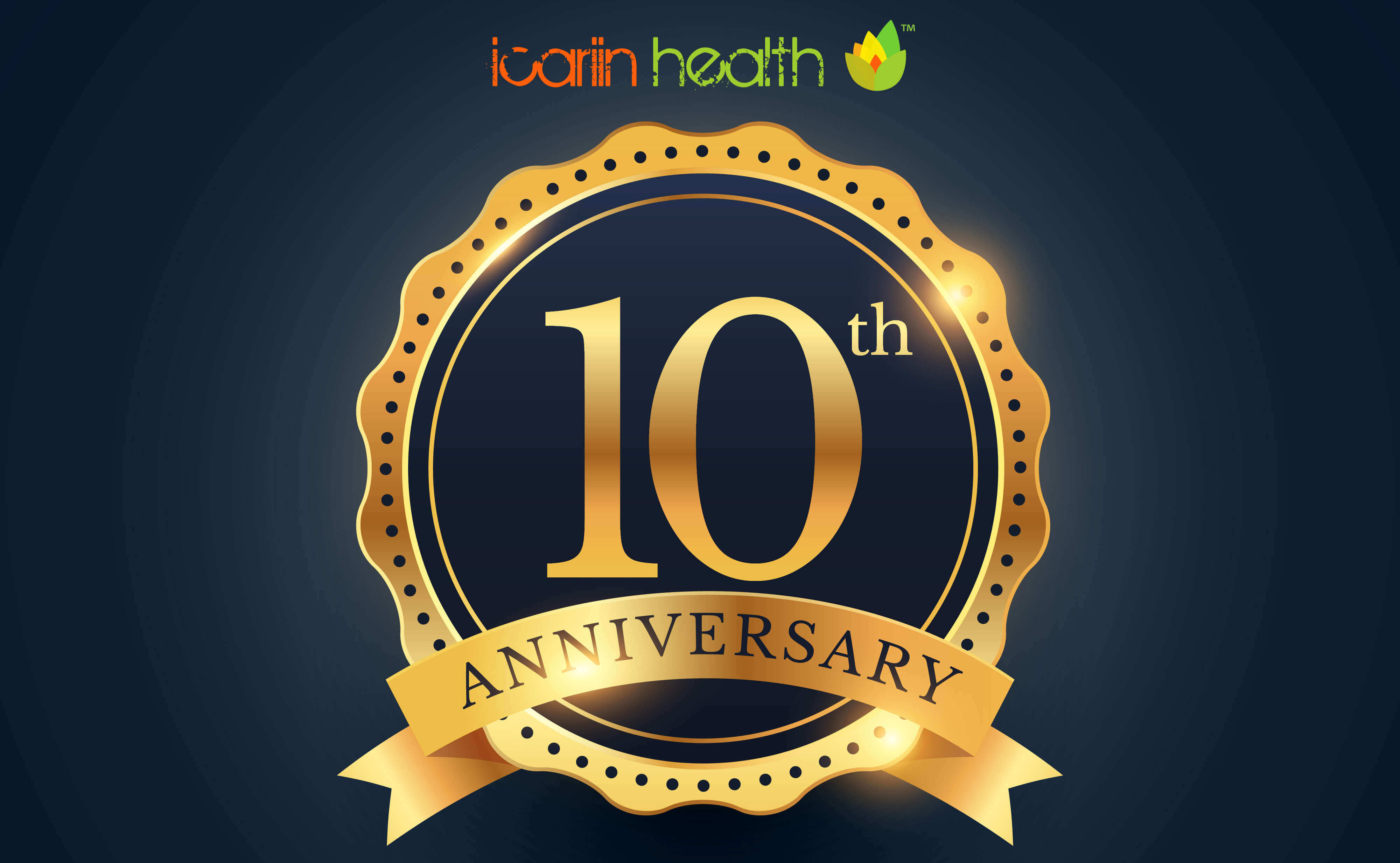 Icariin Health Shop Celebrates 10th Year