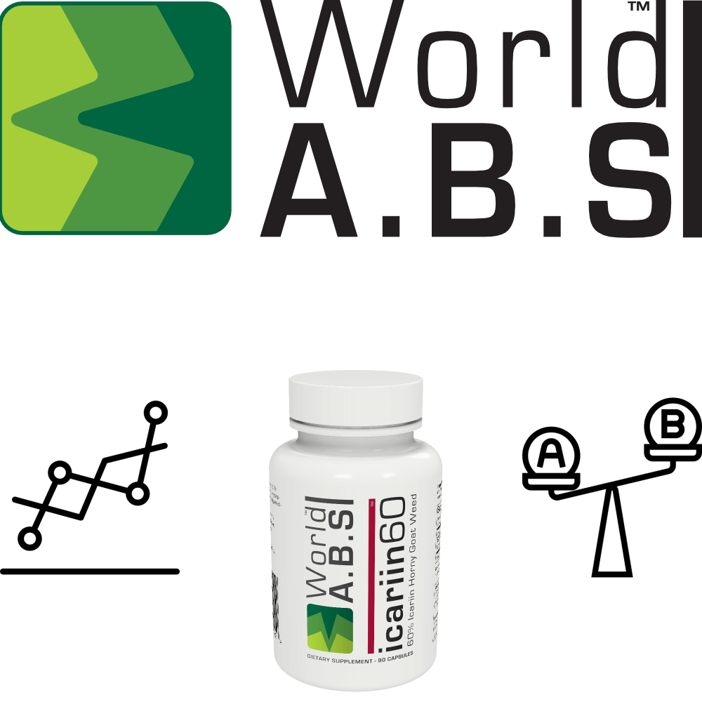 World A.B.S improve their icariin 60™ supplement