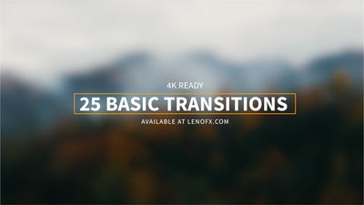 25 Basic Transitions