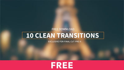 10 Clean Transitions Free