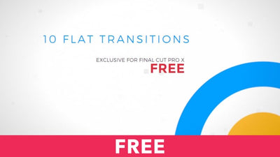 10 Flat Transitions Free