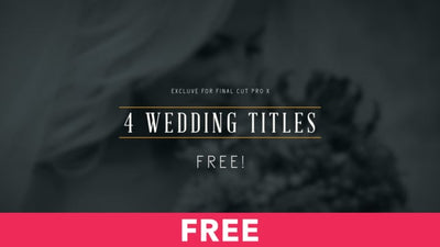 4 Wedding Titles Free