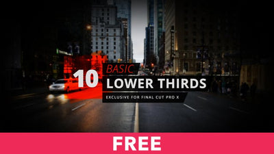 10 Basic Lower Thirds Free