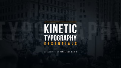Kinetic Typography - Essentials