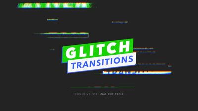 30 Glitch Transitions