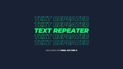 Text Repeater