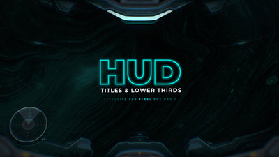 HUD Titles & Lower Thirds