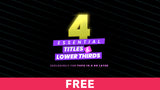 4 Essential Titles & Lower Thirds - Free