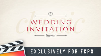Classic Wedding Invitation Theme