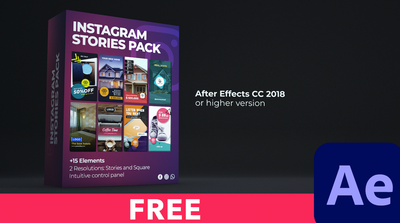 Instagram Stories Pack FREE for After Effects