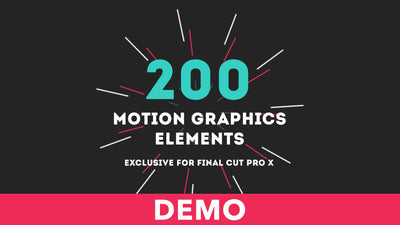 Motion Graphics Elements Demo