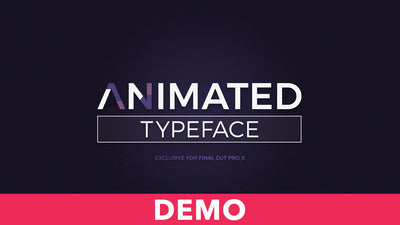 Animated Typeface Demo