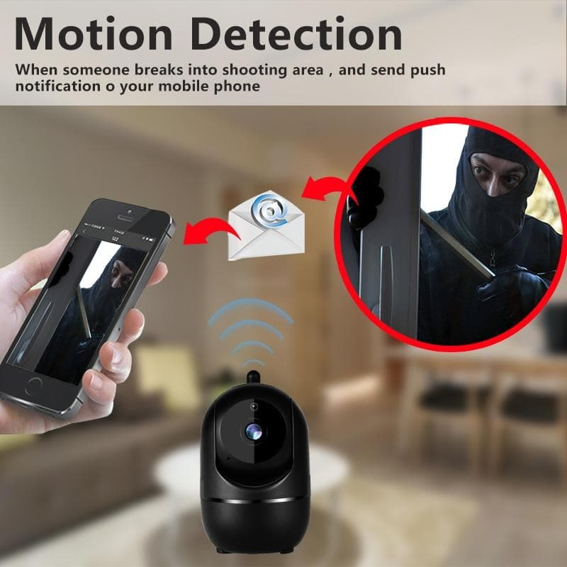 NVR Security Camera System WiFi Surveillance Kit Wireless Video Recorder : Surveillance Cameras - Gadgets 4 EZ Life