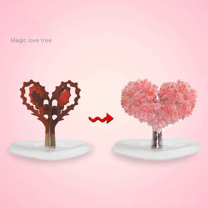 Novelty Magic Growing Christmas Tree Paper Christmas Tree