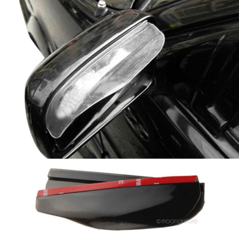 2Pcs Flexible Anti Rain Guard Shade Auto Weatherstrip for Car Rear View Mirror : Mirror & Covers - Gadgets 4 EZ Life