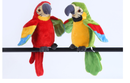 Electric Talking Parrot Plush Toy Cute Speaking Record Repeats