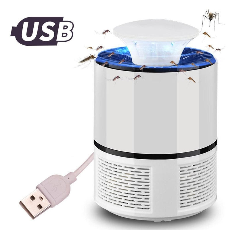 Photo-catalysis Home LED Mosquito Killer and Insect Trap Lamp with USB Connection : Mosquito Killer Lamps - Gadgets 4 EZ Life