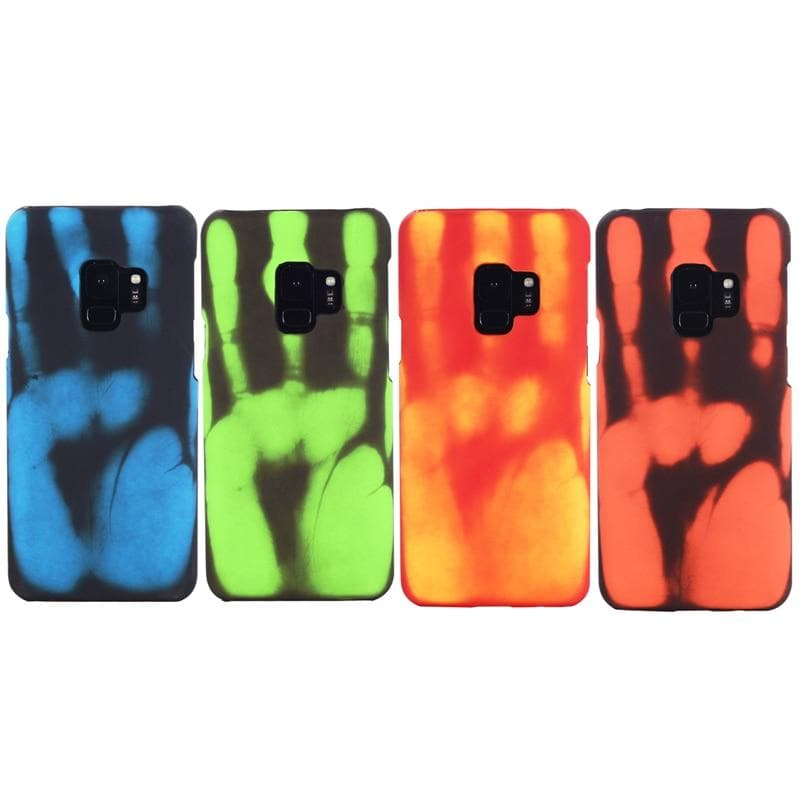 Magic Heat Sensitive Color Change Back Cover Slim Case For Samsung Galaxy : Fitted Cases - Gadgets 4 EZ Life