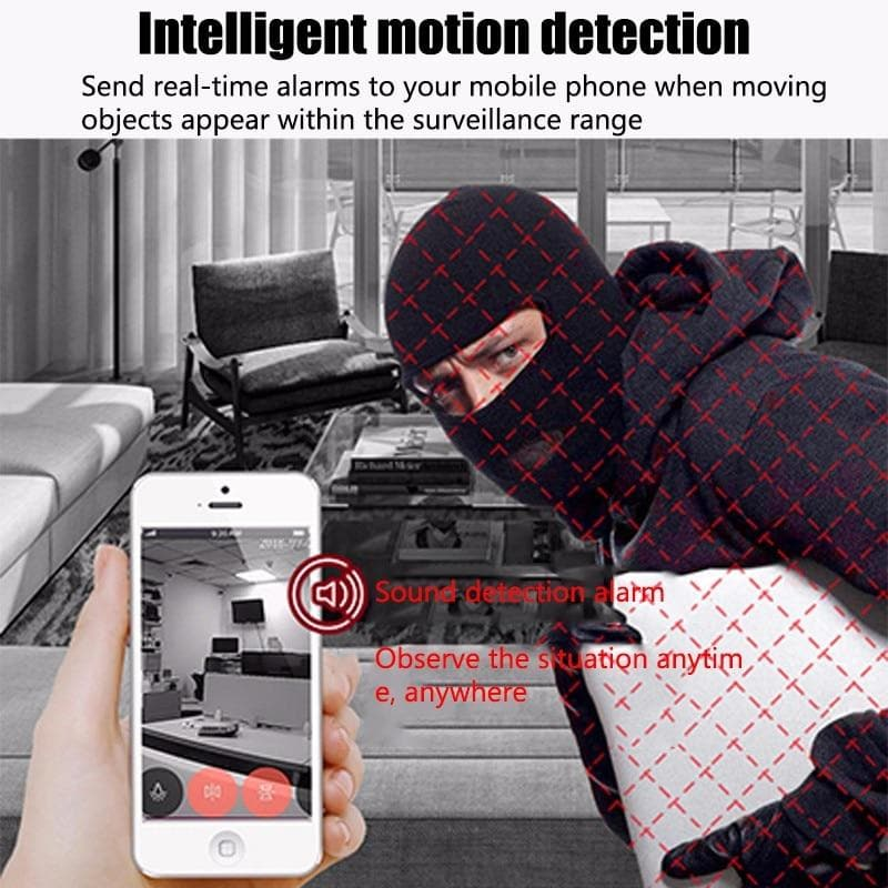 COP CAM Security Camera HD 1080 Motion Detection 32GB Card Night Vision Recorder : Surveillance Cameras - Gadgets 4 EZ Life