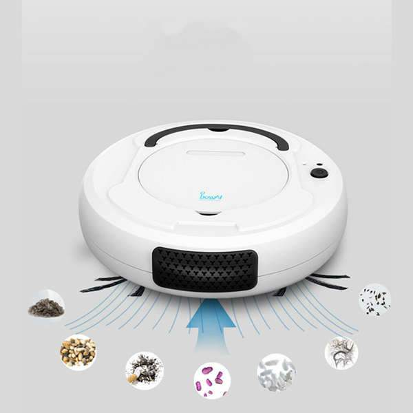 Rechargeable Auto Smart Robot Vacuum Floor Cleaner Dry Wet Mop&Sweep Dust Lot U : Vacuum Cleaners - Gadgets 4 EZ Life