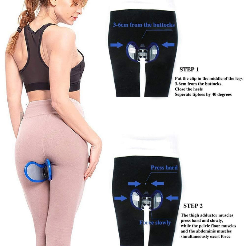 Ivim gym Pelvic Floor Sexy Inner Thigh Exerciser hip trainer gym  Home Equipment Fitness  Correction Buttocks Device workout : Integrated Fitness Equipments - Gadgets 4 EZ Life