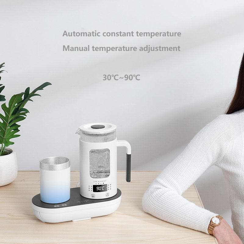Smart Multi-function Thermostat Glass With Heating Cooling Cup : Electric Kettles - Gadgets 4 EZ Life