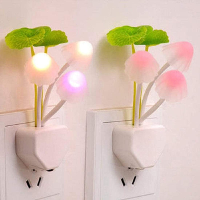 Led Mushroom Sensor Night Light Decorative Lamp With EU/US Plug : LED Night Lights - Gadgets 4 EZ Life