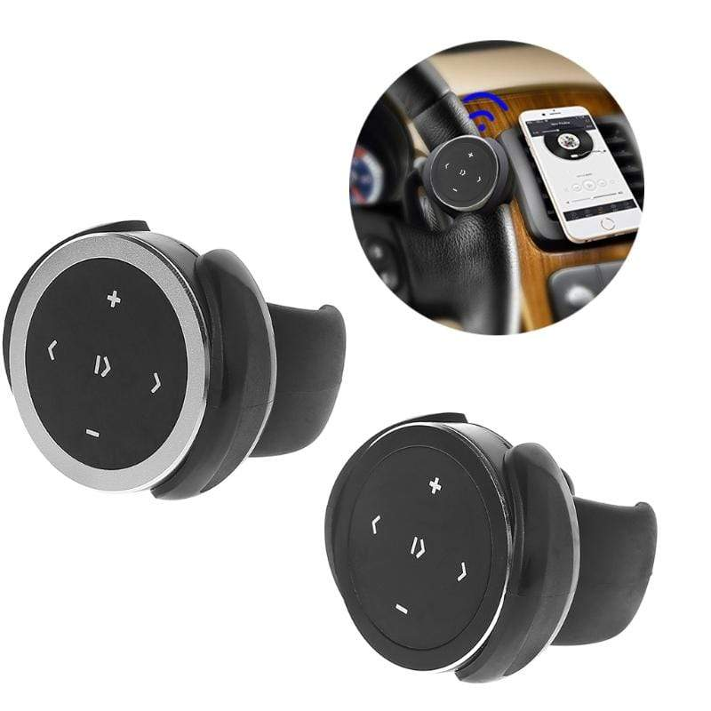 Wireless Bluetooth Media Steering Wheel Remote Control Mp3 Music Player Portable : Remote Controls - Gadgets 4 EZ Life