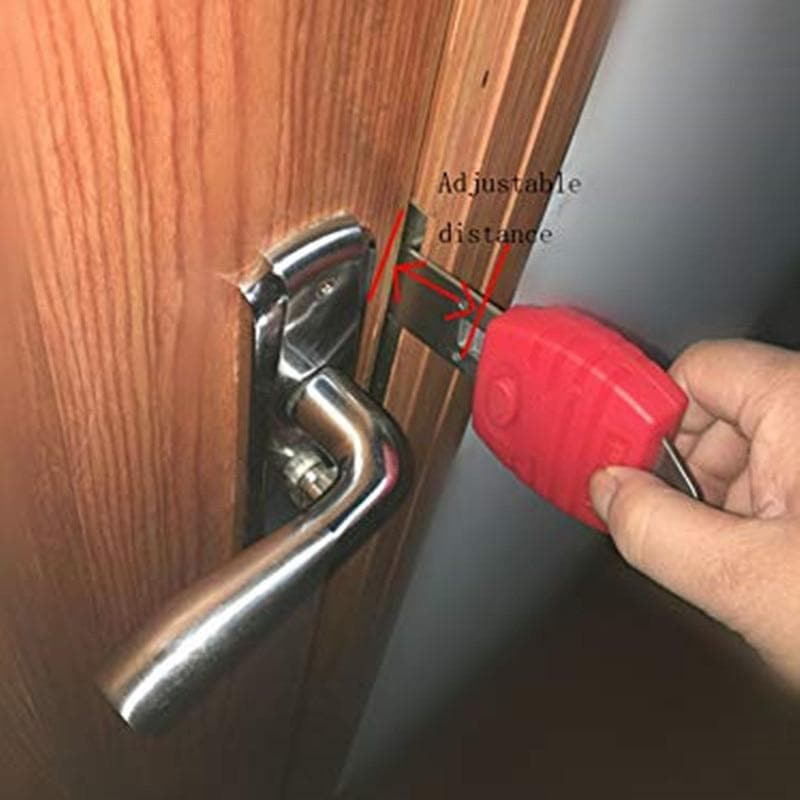 Portable Door Lock Anti-theft lock Travel Lock for Security Home and Hotel : Door Locks - Gadgets 4 EZ Life