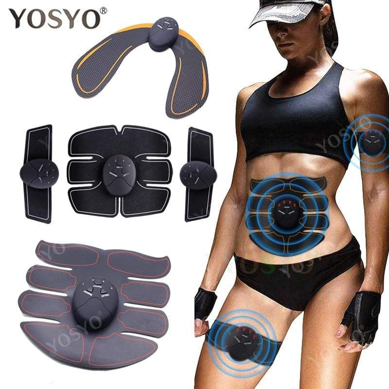 Smart EMS Hip Trainer Electric Muscle Stimulator Wireless Buttocks Abdominal ABS : Massage & Relaxation - Gadgets 4 EZ Life