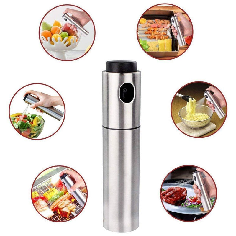 Kitchen Olive Oil Sprayer Dispenser For BBQ/Cooking/Vinegar Glass Bottle : Gravy Boats - Gadgets 4 EZ Life