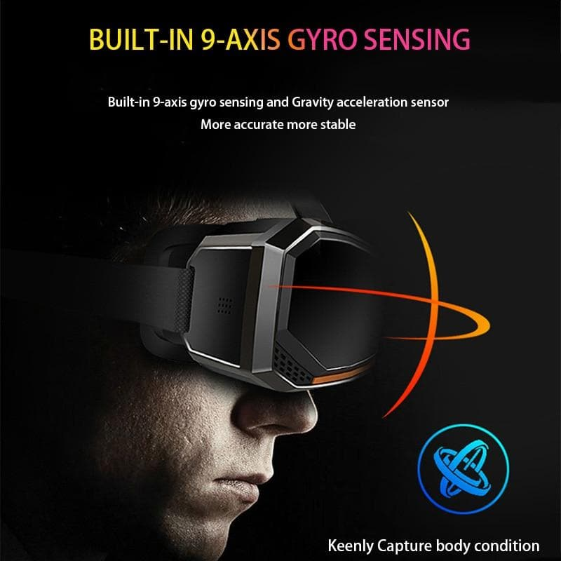 Pansonite VR Headset with Remote Controller 3D Virtual Reality Headsets Glasses : 3D Glasses/ Virtual Reality Glasses - Gadgets 4 EZ Life