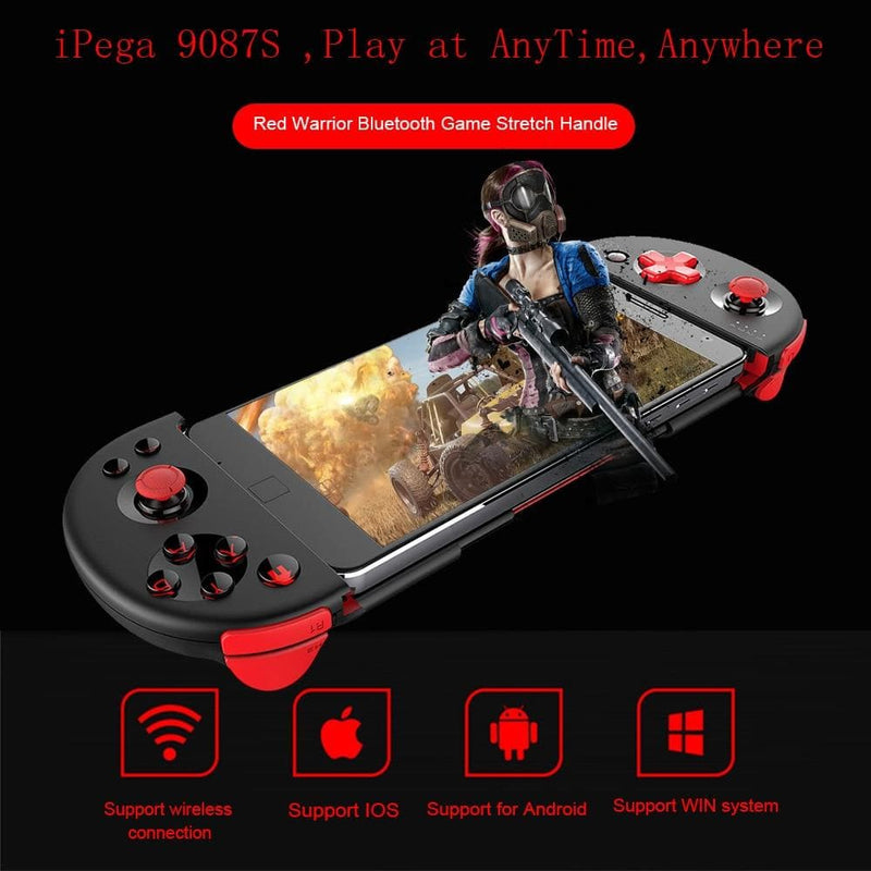 iPEGA 9087S Joystick for Phone Gamepad Android Game Controller Bluetooth Extendable Joystick for ios Tablet PC Android Tv Box : Gamepads - Gadgets 4 EZ Life